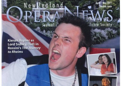 NZ Opera News cover 2011