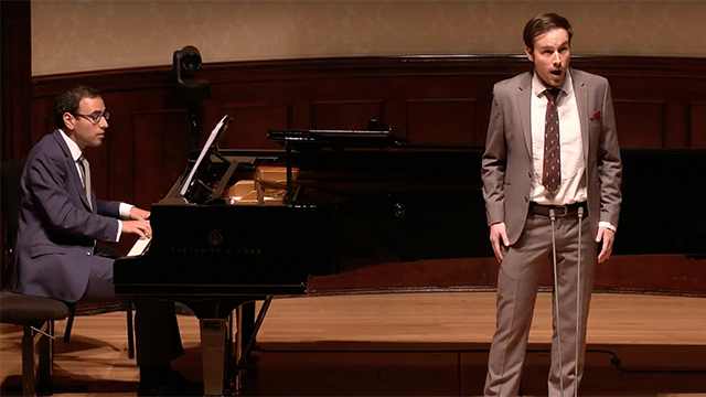 Wigmore Hall Song Competition video, and Figaro in Devon